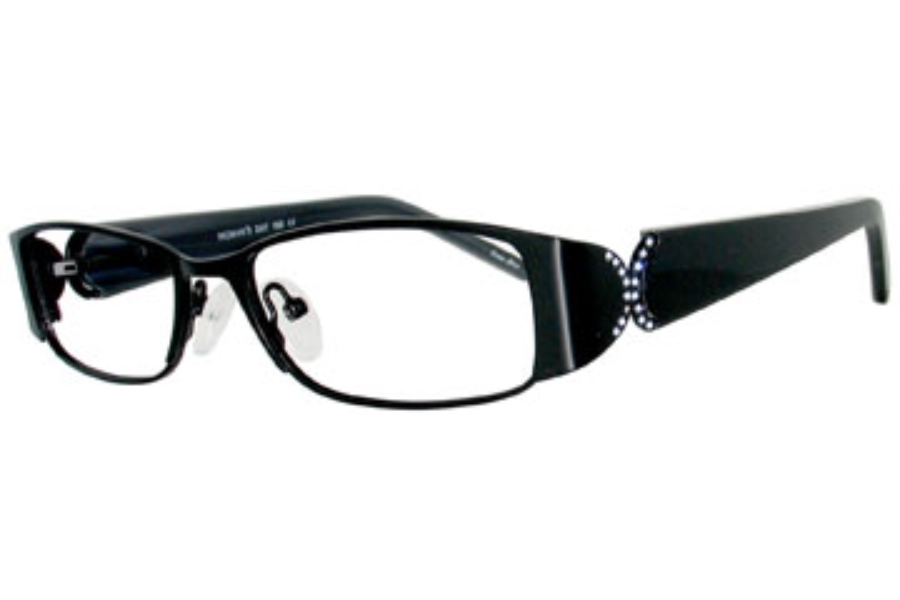 Womans Day WD 155 Eyeglasses in Black