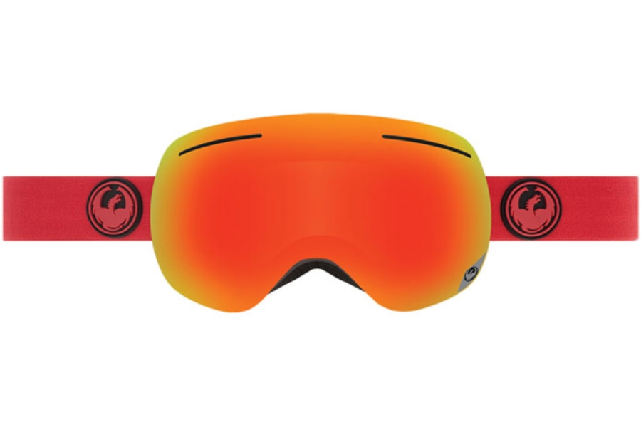 Dragon X1 Goggles in BITTER / RED OPM + YELLOW RED ION