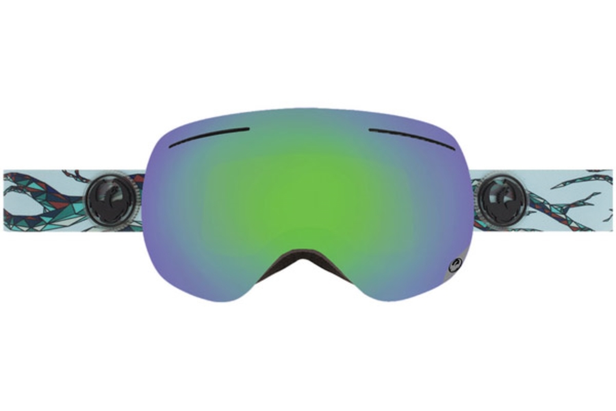 Dragon X1 Goggles in FORM / GREEN ION + YELLOW BLUE ION