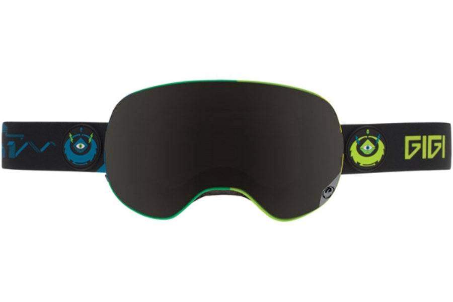 Dragon X2 Goggles in GIGI SIGNATURE / DARK SMOKE + YELLOW RED