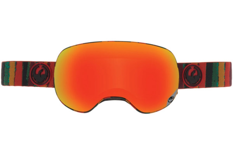 Dragon X2 Goggles in JAM / RED ION+YELLOW BLUE ION