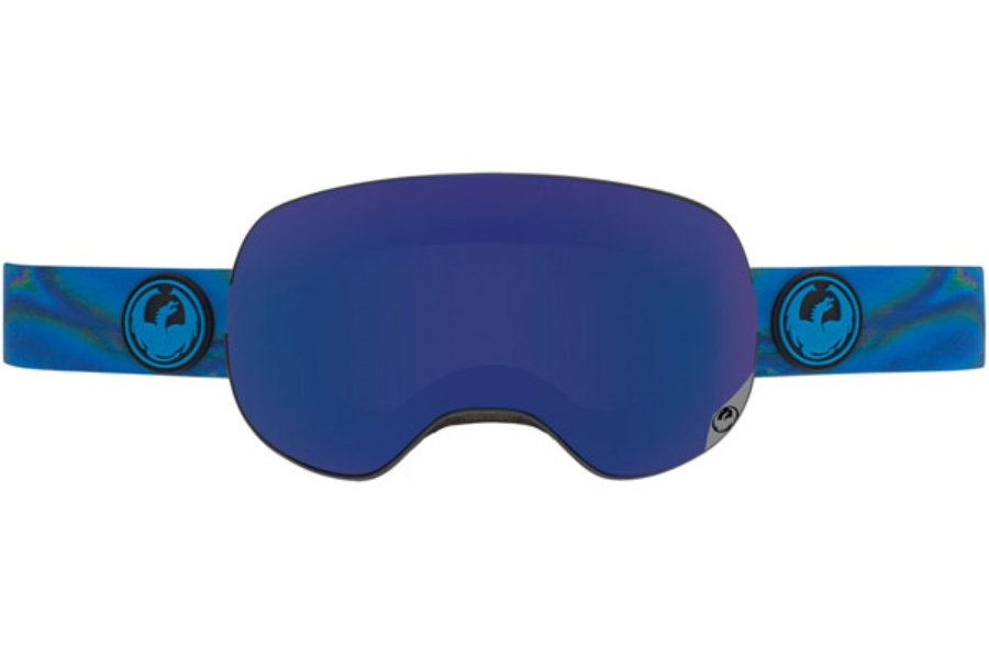 Dragon X2 Goggles in SPILL / DARK SMOKE BLUE + YELLOW RED ION