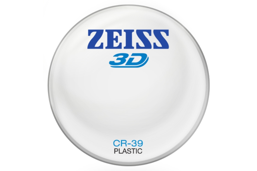 Zeiss Zeiss® 3D Plastic CR-39 Lenses in Zeiss Zeiss® 3D Plastic CR-39 Lenses