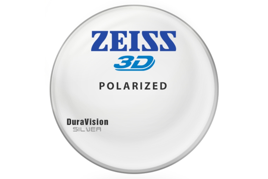 Zeiss Zeiss® 3D Polarized [Gray or Brown] CR-39 W/ Zeiss DuraVision Silver AR Lenses in Zeiss Zeiss® 3D Polarized [Gray or Brown] CR-39 W/ Zeiss DuraVision Silver AR Lenses
