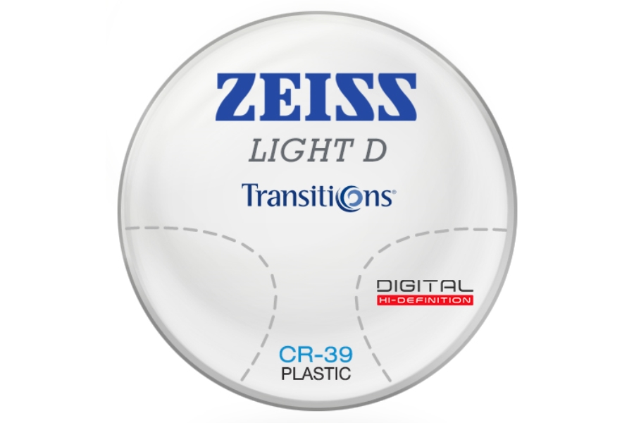 Zeiss Zeiss Light D Digital Transitions® SIGNATURE 8 (Gray or Brown) CR-39 Progressive Lenses in Zeiss Zeiss Light D Digital Transitions® SIGNATURE 8 (Gray or Brown) CR-39 Progressive Lenses