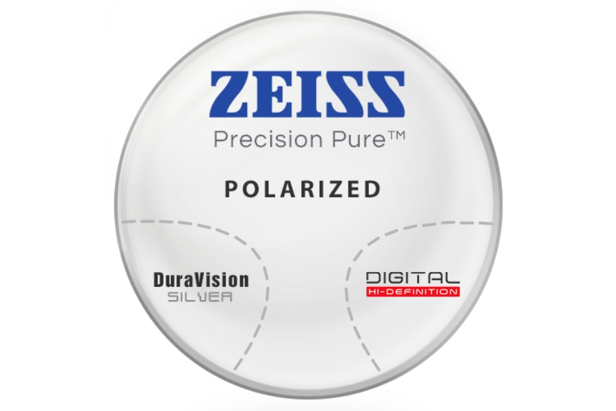 Zeiss Zeiss® Precision Pure™ Polarized - Polycarbonate Progressive Lenses in Zeiss Zeiss® Precision Pure™ Polarized - Polycarbonate Progressive Lenses