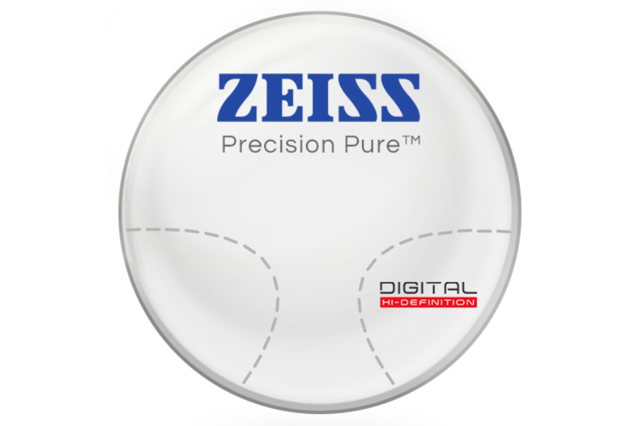 Zeiss Zeiss® Precision Pure™ Hi-Index 1.67 Progressive Lenses in Zeiss Zeiss® Precision Pure™ Hi-Index 1.67 Progressive Lenses